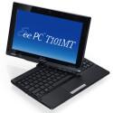 Ähnlich konzipiert ist das EEE PC T101MT mit drehbarem Bildschirm. (Quelle: Asus)