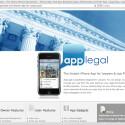 Eine beliebte Vorlage ist die Legal App, die für Rechtsanwälte und Kanzleien eine gute Lösung darstellt.