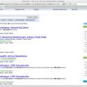 Für Suchanfragen im Web greift Yacy auf die Indizes aller anderen Knoten im Peer-to-Peer-Netzwerk zurück.