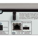 Magere Ausstattung: Sogar die Netzwerkbuchse des Sharp BD-HP 22 S ist nur für BD-Live-Downloads vorgesehen. (Bild: netzwelt)