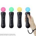 Der auffallend leuchtende Ball am Ende des Controllers dient der Positionsbestimmung im Raum.