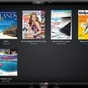 Der Zeitschriften-Dienst Zinio hat es auch auf das iPad geschafft und bietet Einzelausgaben und Abonnements von mehreren tausend Zeitschriften für den Tablet-PC an.