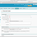 In der Inhaltsbibliothek verwaltet Salesforce Dateien beliebigen Typs, neue Dokumente sind schnell hochgeladen.