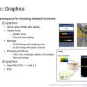 Für das Rendering von 2D- und 3D-Grafik ist die OpenGL-Bibliothek zuständig. (Bild: Samsung, Bada Dokumentation)