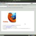 Mit Mozilla Firefox 3.6.6 ist ein aktueller Browser in der Distribution enthalten.
