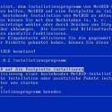Für die Installation kann NetBSD allen freien Platz im Rechner verwenden.