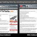 Der Ad-Blocker von Atomic zeigt, dass in Webseiten störende Banner entfernt werden. (Bild: Apple iTunes)