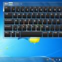 Da der 8,9-Touchscreen wenig taugt, muss die Eingabe mit Stylus und virtueller Tastatur erfolgen.