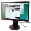 22 Zoll großer Bildschirm im 16:10-Format mit LED-Hintergrundbeleuchtung.