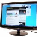 22 Zoll großer Monitor mir 3D-fähiger 120-Hertz-Anzeige.
