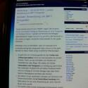 Die Entwickler haben sich große Mühe gegeben, möglichst lesbare Schriften zu verwenden. Dies klappt zum Beispiel beim Browser in geringen Zoom-Stufen schon sehr gut.