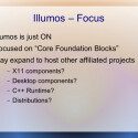 Die erfahrenen Projektleiter sorgen dafür, dass die Entwicklung klar fokussiert abläuft. (Bild: Illumos-Präsentation)