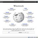 Beispielsweise gibt es einen eigenen Client für die Wikipedia - er zeigt einfach die Webseite an, ist also wenig mehr als ein Link.