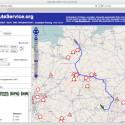 Für die Berechnung einer Route gibt es den OpenRouteService - der Dienst nutzt auch Kartenmaterial von OpenStreetMap.