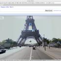 Der Eiffelturm ist schon bei StreetView zu sehen, bald kommen auch deutsche Denkmäler dazu.