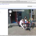 In der Schweiz gibt es offenbar drei Männer, die der Anblick eines StreetView-Autos glücklich macht.