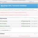 Das freie CMS wird in nur einem Schritt installiert. Es läuft auf allen Servern mit PHP.