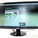 21,5 Zoll großer Monitor mit LED-Hintergrundbeleuchtung.
