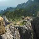 Auch in Arcania kann der Spieler wieder eine riesige 3D-Welt weitesgehend frei begehen. (Bild: Jowood)