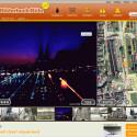 Köln bei Nacht: Panorama-Foto beim Dienst Bilderbuch Köln. Bild: Screenshot