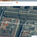 Microsofts Suchmaschine Bing integriert auch Aufnahmen aus der Vogelperspektive. Bild: Screenshot