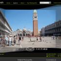 Faszinierende Panorama-Aufnahmen: Der Markusplatz in Venedig, veröffentlicht bei Microsofts Photosynth. Bild: Screenshot