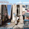 Die Nordwest-Zeitung bietet zusammen mit dem Straßenkartografie-Anbieter Panolife einen virtuellen Stadtrundgang durch Oldenburg an. Bild: Screenshot