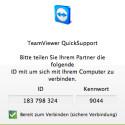 Die QuickSupport-Variante benötigt keine Admin-Rechte, um als Server für die Fernsteuerung zu dienen.