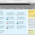Im Admin Center kann der Nutzer weitere Module für seine Plattform erwerben.