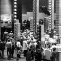 Futuristisch mutet der Messestand von Telefunken in den 70er Jahren an. (Bild: Messe Berlin)