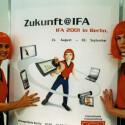 Im neuen Jahrtausend angekommen ist auch die IFA. (Bild: Messe Berlin)
