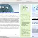 Sein Blog Netzpolitik.org steht in den Deutschen Blogcharts auf Platz 1.