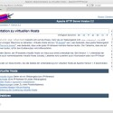 Mit virtuellen Hosts kann der Server mehrere Domains unter einer IP-Adresse betreiben.