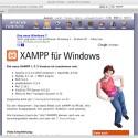 Das Projekt XAMPP erleichtert die Installation von Apache unter Windows noch einmal deutlich.