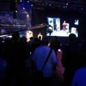 Sonys Messestand ganz im Zeichen von 3D. Live-Präsentationen zur Technik wurden direkt in der dritten Dimension produziert. Bild: Netzwelt