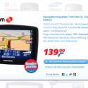 real hat ein Tom Tom Navigationsgerät im Angebot. Im Netz gibt es das Modell aber schon günstiger.