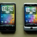 Die beiden neuen Android-Smartphone von HTC das Desire HD und das Desire Z. (Bild: HTC)