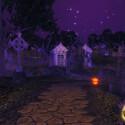 Hier fehlen nur noch die Zombies, aber das Spiel ist ja noch nicht fertig. Auch den Schauplatz aus Jackson Thriller Video kann der Spieler besuchen. (Bild: SEE)
