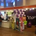 Neben Google, Facebook und Ingres gehörte auch Yahoo zu den Sponsoren.