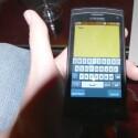 Statt Swype soll mit T9 Trace auf dem Handy eine ähnliche Software zum Einsatz kommen. Auf dem Testgerät war diese aber noch nicht verfügbar. (Bild: netzwelt)