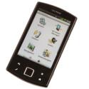 Das Optionsmenü des Smartphones ist zwar strukturiert, jedoch lassen sich einzelne Funktionen nur schwer finden.