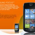 Das Samsung Focus wird in den USA über AT&T vertrieben. (Bild: Screenshot)