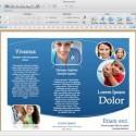 Wie bei einer DTP-Software kann der Anwender in Word für Mac 2011 per Layoutansicht schnell Korrekturen für den Druck vornehmen. Bild: Screenshot