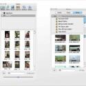 Der Dateibrowser für den Import von Multimedia-Dateien ist in beiden Programmen ähnlich aufgebaut: Links die Office-Version, rechts die iWork-Variante. Bild: Screenshot