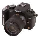 Systemkamear mit Micro-Four-Thirds-Bajonett und Live-MOS-Sensor.