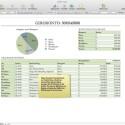 Ausgewählte Vorlage in Apple Numbers. Bild: Screenshot