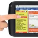 Der Touchscreen ist 7 Zoll groß. (Bild: Pearl)