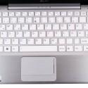 Beim Tastaturlayout versucht Asus die Größenverhältnisse der Tasten eines großen Keyboards beizubehalten.