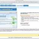 Sogar eine Webseite hat uns Vistaprint angeboten - danke, die haben wir schon.