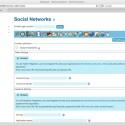 In Version 6.0 ist auch die Unterstützung für soziale Netzwerke wie Twitter und Facebook hinzugekommen.